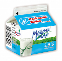 Mleko biale Mazurski Smak 250 ml