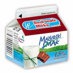 Mleko czekoladowe Mazurski Smak 250 ml