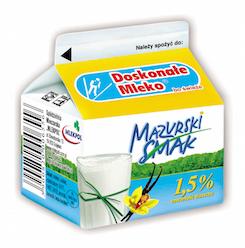 Mleko waniliowe Mazurski Smak 250 ml