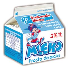 Wloclawek Kesem Mleko biale 250 ml